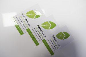 cartes de visite avenir toiture energie communication