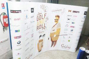 bâche photo signalétique communication displays bâche grand format golf and roll