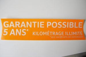 stickers vinyle fluo repositionnable impression communication publicité