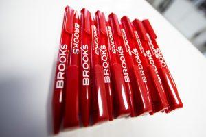 objets publicitaires goodies stylos Brooks immobilier impression communication