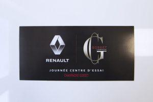 flyers renault champagne gosset invitation communication impression publicité