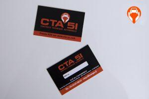cartes de visite impression cta 51 communication publicité